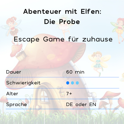 family escape game für zuhause