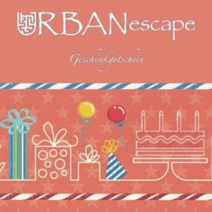 Escape Room and Game Gift Card - URBANescape
