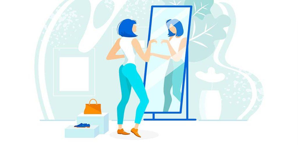 Warum steht unser Spiegelbild nicht Kopf?  - Rätsel der Woche