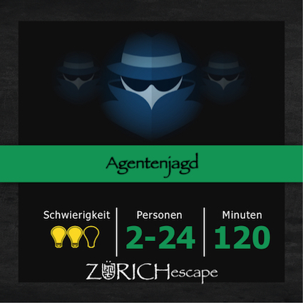 Outdoor escape Game Agentenjagd