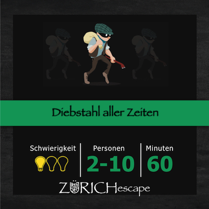 escape game mission diebstahl