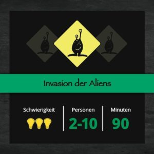 Escape Game Mission: Alien Invasion - Rettet die Welt vor einer Alien-Invasion in dieser Mission in Zürich